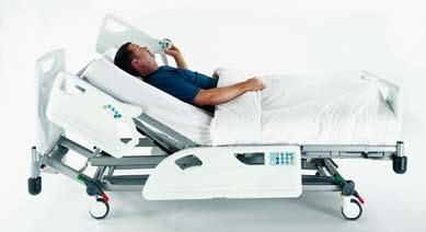 Auto-contour The single auto-contour button places the patient in an excellent chair position at the bed s lowest height.