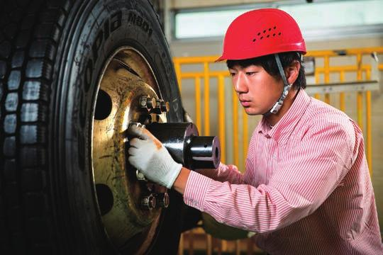 Bridgestone, we make safety a business value. Creating a safe working place is everyone s responsibility.
