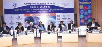 Anirban Basu, Vice President & Chair, Conference Committee, Computer Society of India along with many other distinguished luminaries and guests, under the blessings and kind patronage of the Father