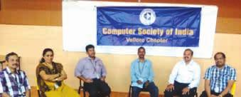 Computer Society of India CSI Vellore Chapter organized a two day s workshop on Open Source Data Mining Tool R on 08-01-2016 and 09-01-2016 at VIT University. Mr.