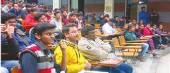 11-1-2016 Participants during the event on Town Hall