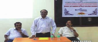 Tech, Kurnool 30-12-2015 During one day Workshop on PHYTHON