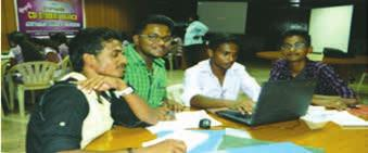 Florence, Prof Janani & Ms Malar, during two days National Workshop on PHP &