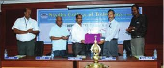 Computer Society of India Region-vIi Nandha College of Technology, Erode 10-7-2015