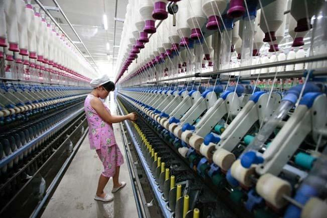 COMPETITIVENESS Indian textile manufacturer,