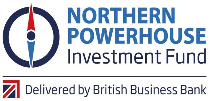 Northern Powerhouse Investment Fund Project Sponsor: British Business Bank Humber ESIF Investment: 5.