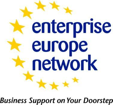 Enterprise Europe Network Project Sponsor: Enterprise Europe Network Launch Date: Live End Date: N/A Target Audience: SME businesses Geographic Coverage: Humber wide The Enterprise Europe Network is