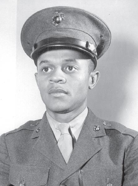 - Pioneering African-American Marines honored, with your help Between 1942 and 1949, more than 20,000 African-American Marines the first African Americans allowed to join the Corps received their