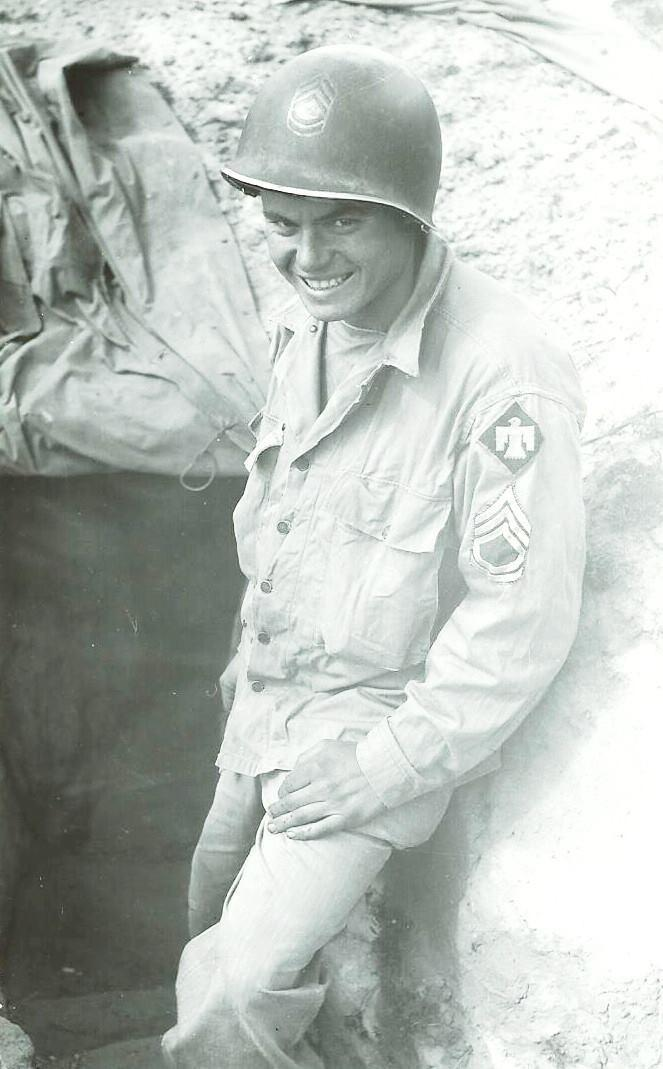 Tech Sgt. Loren F. Dudley Chief radio operator in WW2 103 rd Signal Co. Sicily, Naples-Foggia, Rome-Arno, Southern France, Rhineland, Central Europe.