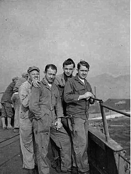 Our commander, a reserve captain from California, had joined us at Wonsan. As a result, when we got to Yonpo we were organized sufficiently to get a control tower and radio station set up and running.