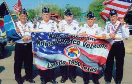 Ignacios, TX ceremony to honor ICE Agent Jaime Zapata (L-R) Nico Nanez, Sal Scharaffa, Edwardo Sanchez, Rey Reyna and