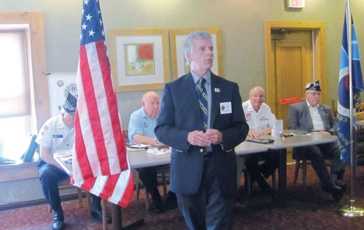 259 CENTRAL INDIANA [IN] We were honored to have an informative Q and A session at the July meeting with a representative from The American Legion National Offices in Indianapolis.