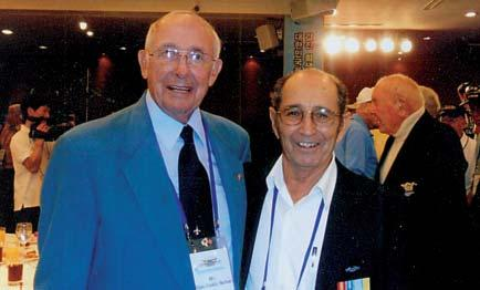 56 MEMBERS from page 49 Former KWVA National President William Mac Swain and Ernesto Sanchez meet in Korea Lt. Gen.