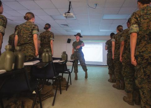 Regular training and individual mentorship support the continued development of each Marine.