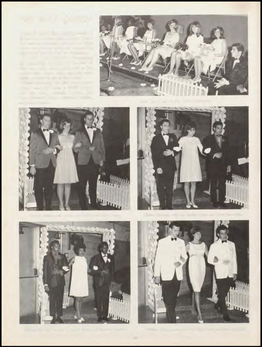1967 MAY QUEEN One of Shaw's final exciting events of the year is the nomination of May Queen.