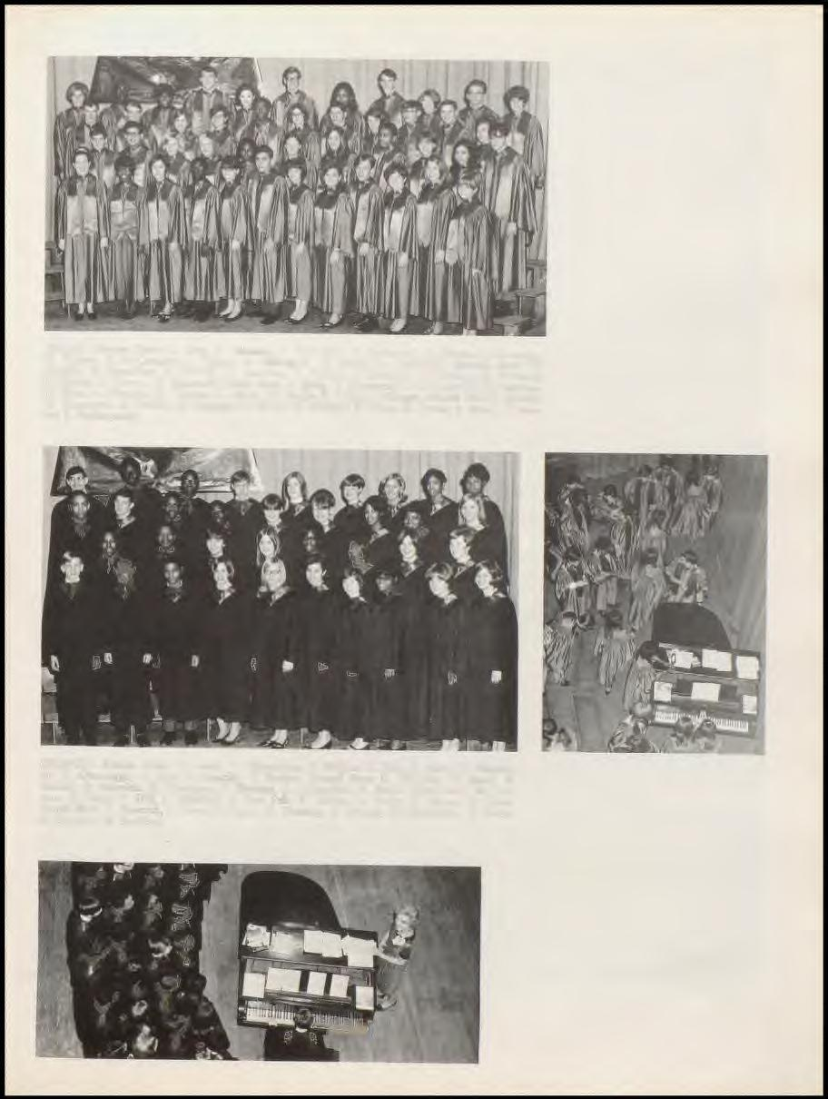 CHOIR - Bottom Row: C. King, S. Johnson, S. Volweiller, C. Redmond, S. Dennis, J. Bevacqua, M. Palmer, D. l\1cgaughey, J. Phipps, 1\1. Billington, B. Blunt, R.
