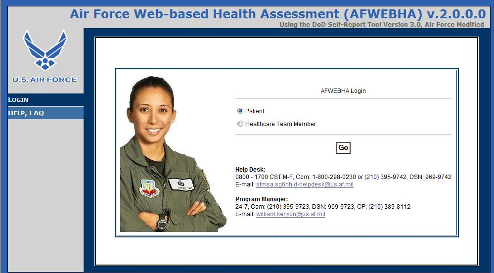 Air Force Web-based