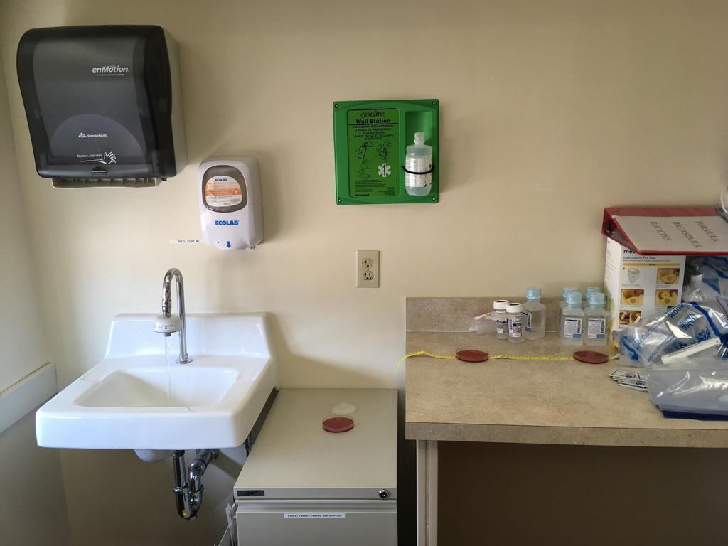 Infection Prevention and Control Practices and Water Exposures Splashing Tap