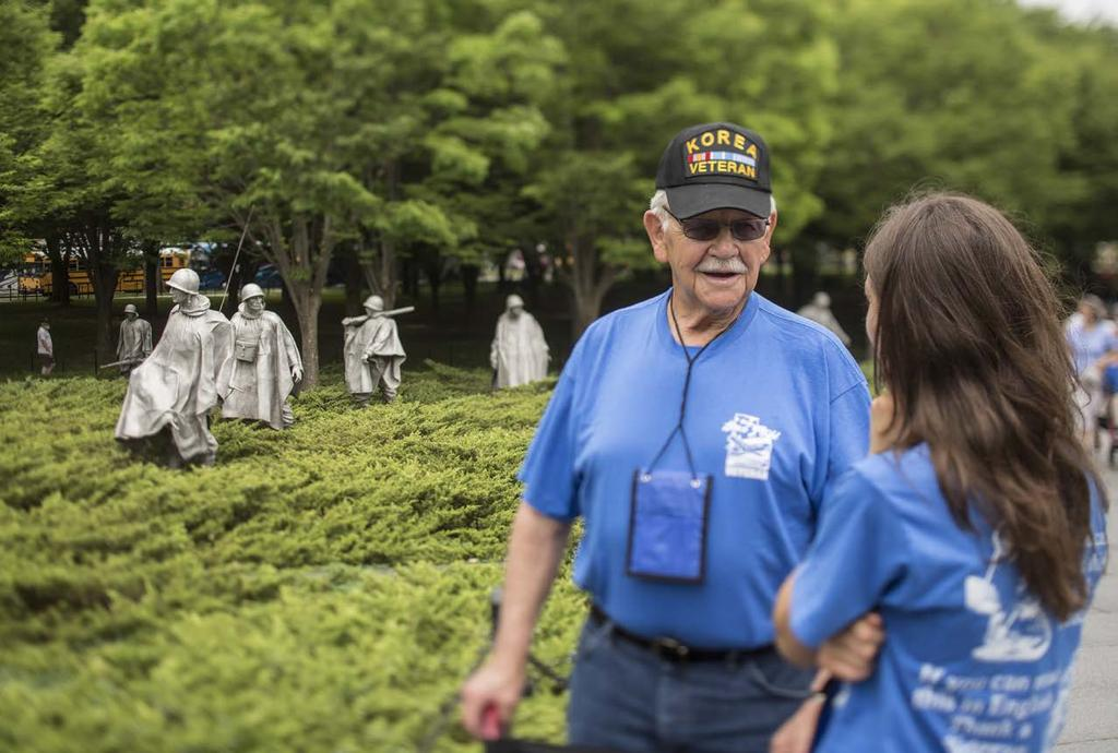 TO KNOW THEM IS TO CARE FOR THEM BETTER Brief Highlights of a College-Sponsored Utah Honor Flight BY JEFF L.