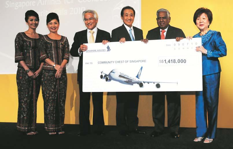 2010, which launched Singapore Airlines first-ever cookbook,