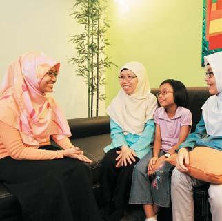 """ Noridah Binte Haron, 51, and her late husband, first approached PPIS FSC - West for financial assistance for their school-going children"