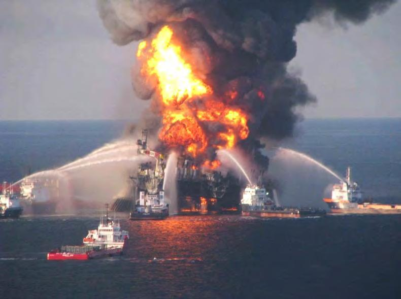 Deepwater Horizon Oil Spill Response Over 47,000 workers and over 6,400 vessels during peak