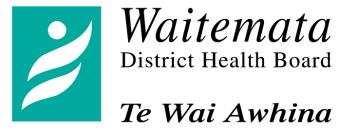 Date : July 2007 Job Title Department Location Reporting to : Critical Care Outreach : Intensive Care / High Dependency Unit : North Shore and Waitakere Hospital : Charge Nurse Manager () for meeting