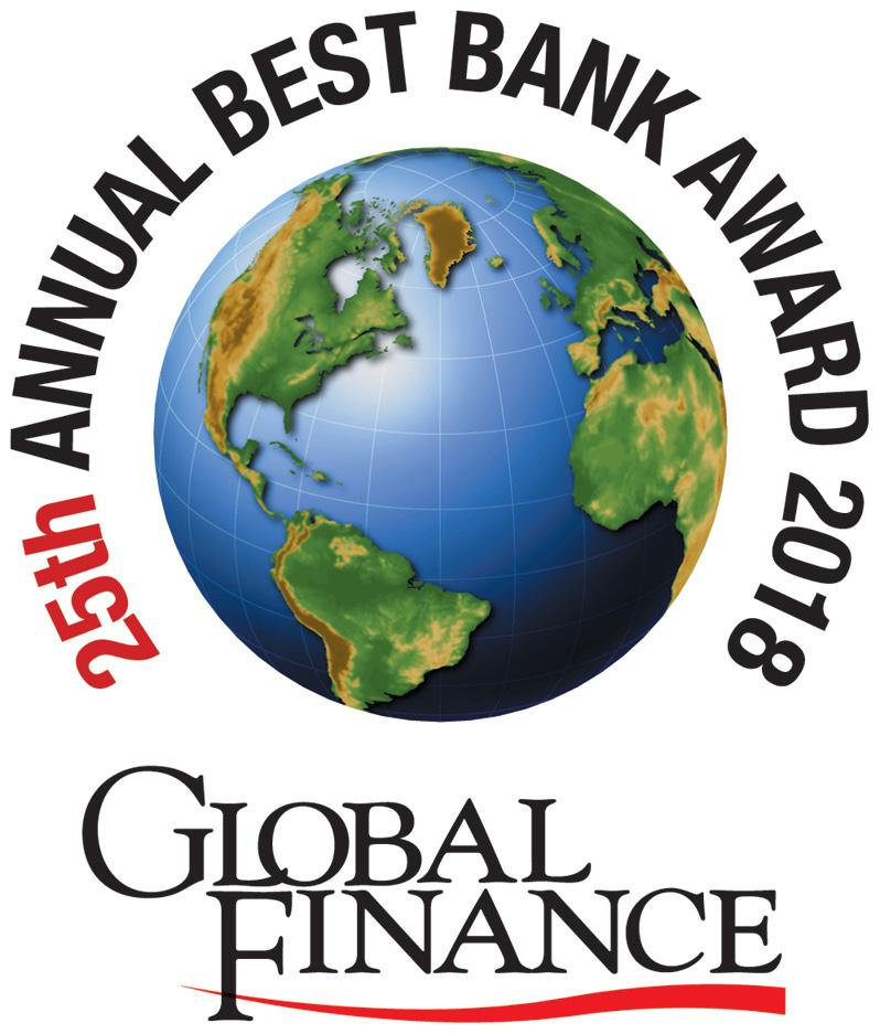 In May 2018, Global Finance will publish its 25th annual selections for the World s Best Banks.