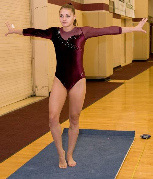 992 on floor as a senior in 2008-09. She posted season-high marks of 9.175 on vault vs. West Chester/Wilson on Mar. 1, 8.650 on bars vs. Wilson on Feb. 14, and 9.075 on floor vs. Bridgeport on Feb.