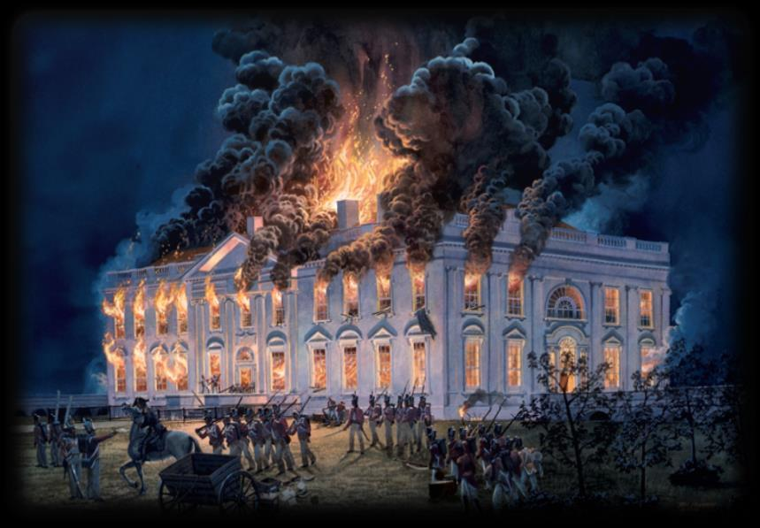 Events in the War of 1812: Burning of Washington D.C.