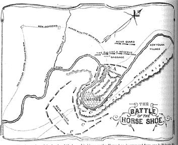 Events in the War of 1812: Battle of Horseshoe Bend Background: (1813 14), The Creeks were in a civil war between those who followed Tecumseh and those who were willing to change their way of living