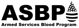 the Department of Defense that collects and distributes donated blood to service members and families who are in need of it because of injuries or illnesses.