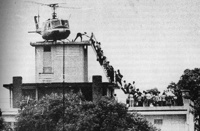 "10. COMMUNISTS TAKE SAIGON 1975 The North Vietnamese initiate a concerted effort to ""liberate"" Saigon."