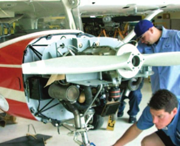 22194 ECRWSS aviation Center 16550 Saticoy street, Van Nuys CA 91406 Call North Valley Campus at (818) 256-1400 AIRCRAFT MECHANICS PROGRAM The program consists of 45 subject areas presented in three