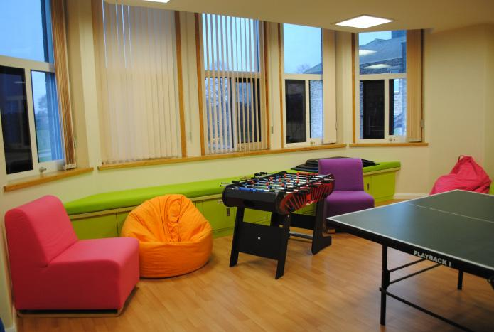 Facilities at Alnwood Young people have access to: Activity and