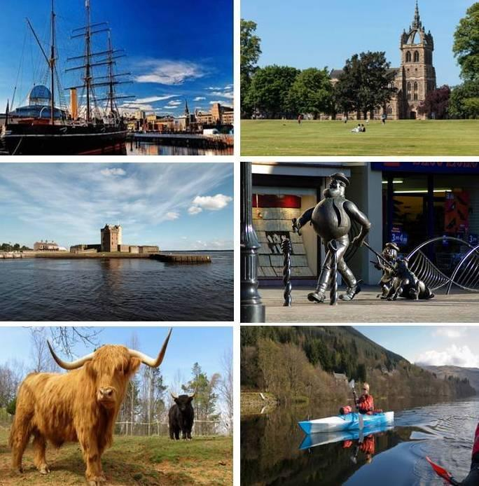 LIVING IN TAYSIDE Discover award-winning towns and cities, breathtaking beaches and alluring countryside.