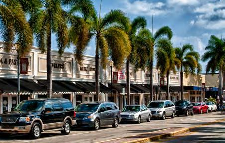 Backus Museum & Gallery and Manatee Observation Center along with a strong Downtown Farmers Market have helped draw customers from the greater Treasure Coast region to the downtown.