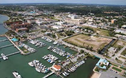 PROPERTY DESCRIPTION This site is definitely a diamond in the rough, offering unparalleled views of the Indian River Lagoon and walking distance to dining, arts,