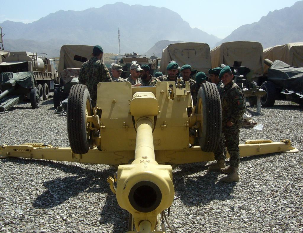 Two dozen senior Afghan officers and non-commissioned officers underwent an intense course modeled after the U.S. Army Field Artillery Officer Basic Course at Fort Still.