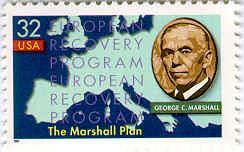 The Marshall Plan (1947-48) War damage and dislocation in Europe invited Communist influence Economic aid to all European countries offered in the European Recovery Program $17 billion