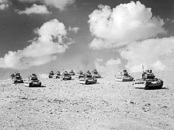 The Germans had advanced to an Egyptian village called El Alamein.