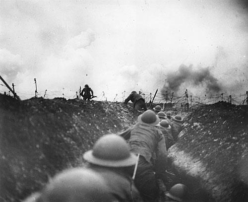 No Man s Land The devastated area between the opposing armies trench lines where everything had been