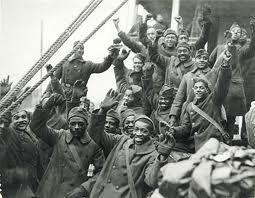 African-American Troops Nearly 400,000 blacks were drafted to serve overseas Had to serve in segregated units under white