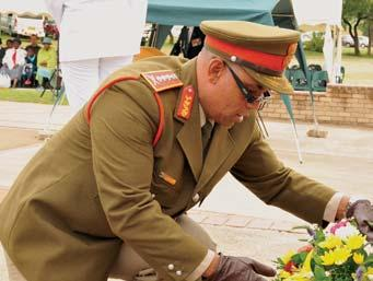 commemoration SS Mendi commemorated S A S O L D I E R Article and Photos by S Sgt Lebogang Tlhaole One of the worst South Africa s military disasters, the sinking of SS Mendi, was commemorated at