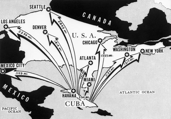 On October 24, Khrushchev answered Kennedy. He said that Soviet ships would keep coming to Cuba. However, on October 24 and 25, some Soviet ships turned back from entering Cuba.