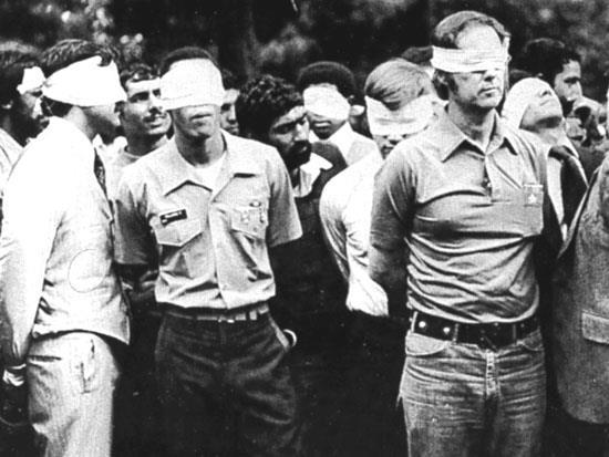 IRAN HOSTAGE CRISIS 1979-1981 Why did the U.S. become involved? The U.S. embassy in Iran was taken captive. *On November 1, 1979 Khomeini urged his people to demonstrate against the U.S. On November 4th thousands gathered around the U.