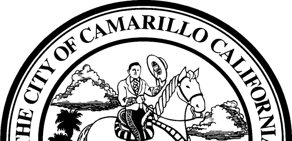 CITY OF CAMARILLO AND CAMARILLO SANITARY DISTRICT WATER AND SEWER RATE