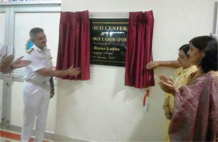 ASSISTED REPRODUCTIVE TECHNOLOGY CENTRE INAUGURATED AT INHS KALYANI A state-of-the-art Assisted Reproductive Technology (ART) centre was inaugurated at INHS Kalyani by Mrs.