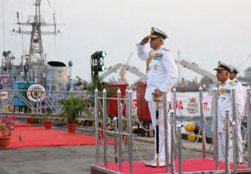 Indian Naval Ships Karwar and Kakinada were decommissioned on 09 May 17.