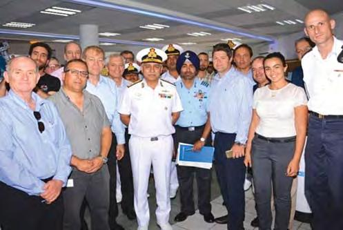 The Task Group was headed by Rear Admiral RB Pandit,